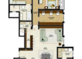 Apartamento Tipo 01 Diferenciado - Imperium Palace