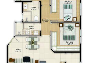 Apartamento Tipo 01 - Ferrara
