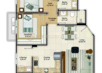Apartamento Tipo 02 - Ferrara
