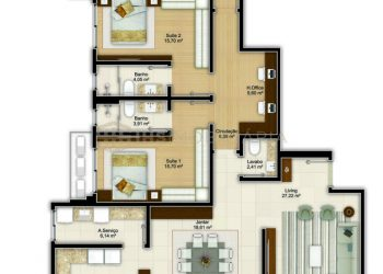 Apartamento Tipo 02 - Imperium Palace