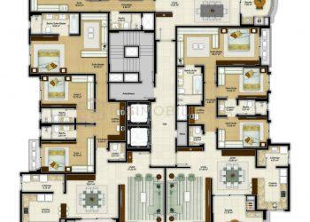 Pavimento Tipo - Imperium Palace