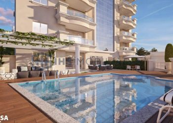 Varanda com Piscina - Apartamento 502 - Imperium Palace