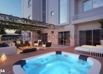 Varanda com Spa - Apartamento 501 - Imperium Palace